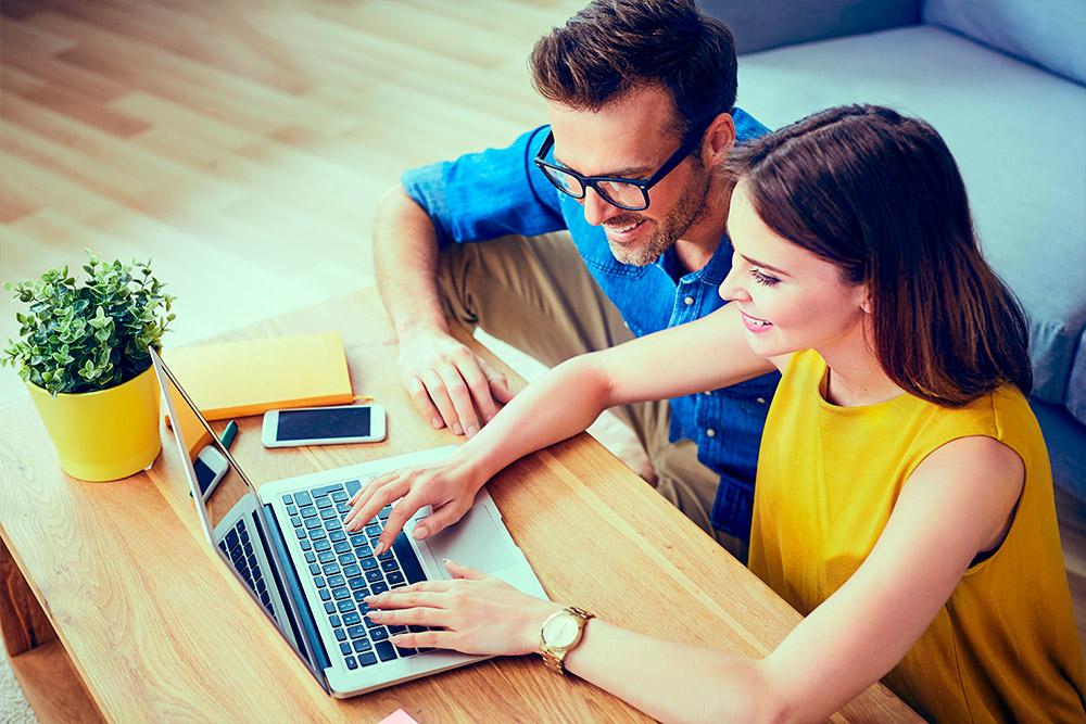 Contadores se preparando para desenvolver um plano de marketing contabilidade